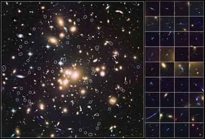 aglomerado de galáxias Abell 1689