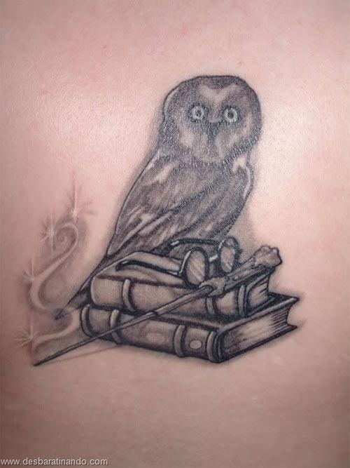 tatuagens harry potter tattoo reliqueas da morte bruxos fan desbaratinando (23)