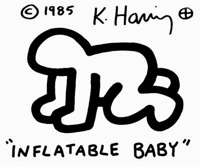 Radiant Inflatable Baby by Keith Haring for Pop Shop NYC box front