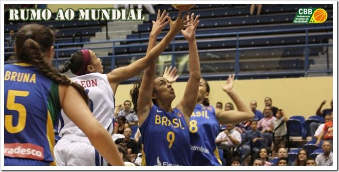 PUR vs. BRA / 17 de agosto de 2012 - August 17, 2012 / Campeonato FIBA Américas U18 femenino - FIBA Americas U18 Championship for Women / (Photo: William Rosario / FIBA Americas)