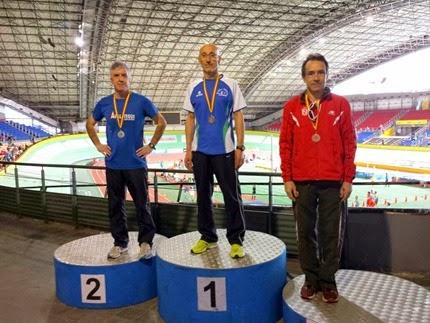 Jose Glez. Palomino Oro en los 1500ml. y Plata en los 3000ml.
