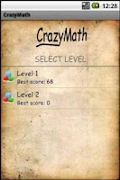 Screenshot of CrazyMath
