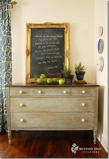 chalk board wow frame