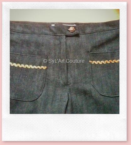 Pantalon jean fille2