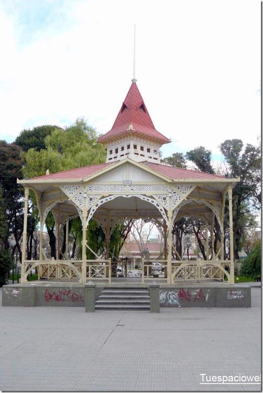 Glorieta - Kiosko - Plaza Trelew