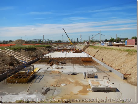 Stato cantiere EXPO 2015