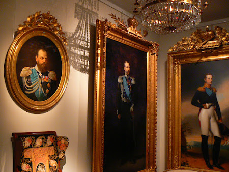 Picturi Finlanda: tari rusi in Muzeul National