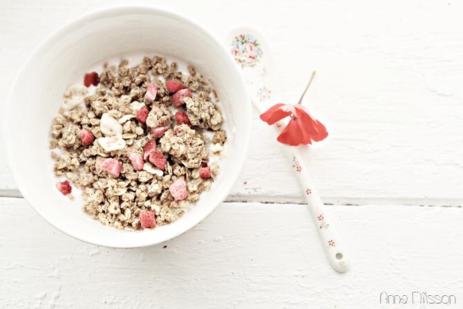 frukost - sommar