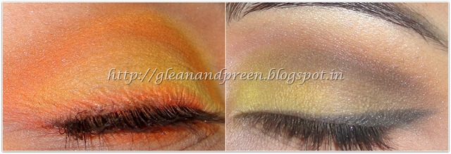 Eye Makeup -Sunrise or Sunflower