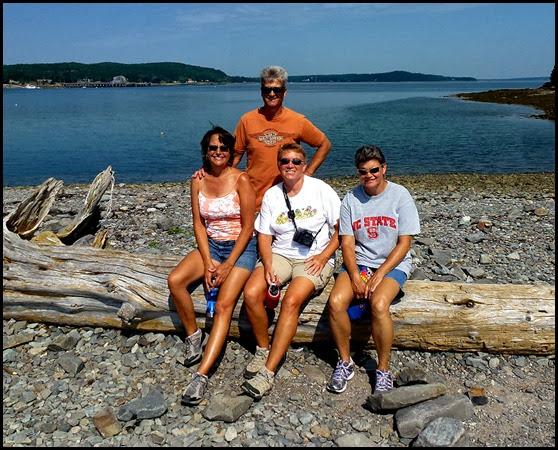 03d - Bar Island Hike - Dan, Tricia, Syl, Pam