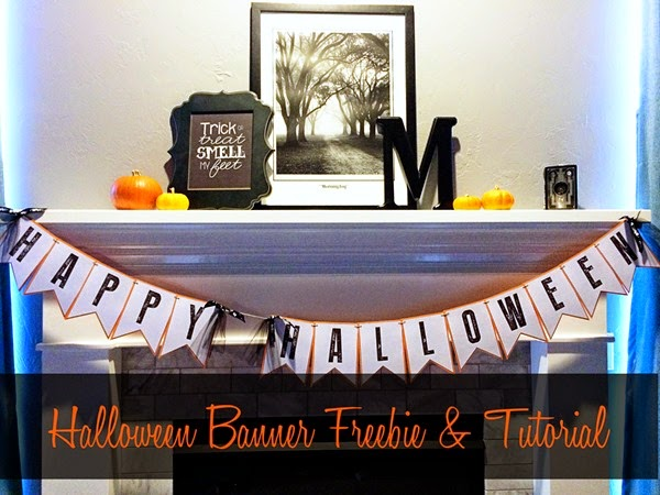 Halloween Banner Freebie & Tutorial