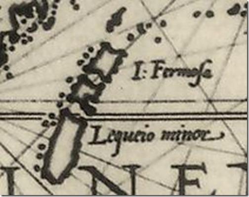 16世紀歐洲人所繪臺灣地圖