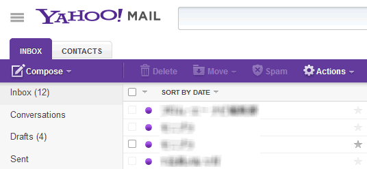 Yahoo! Mail has an updated design!