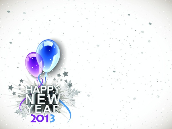 Happy New Year 2013 Backgrounds