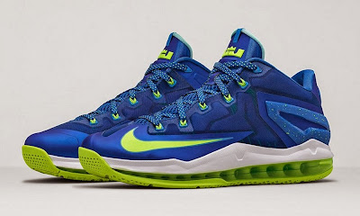 nike lebron 11 low gr sprite hyper cobalt 1 03 Release Reminder: Nike Max LeBron XI Low Sprite