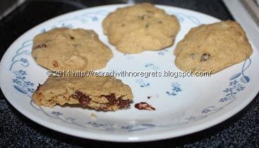 Microwave Cookies baked 4