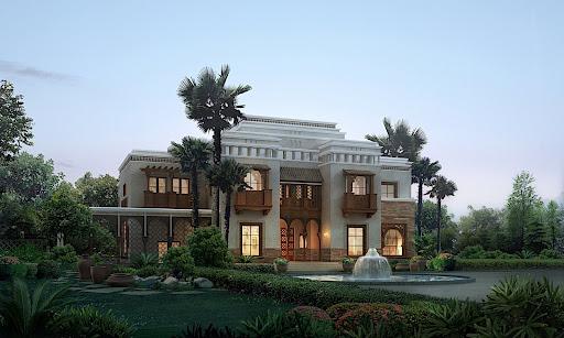 Tiger Woods House Dubai