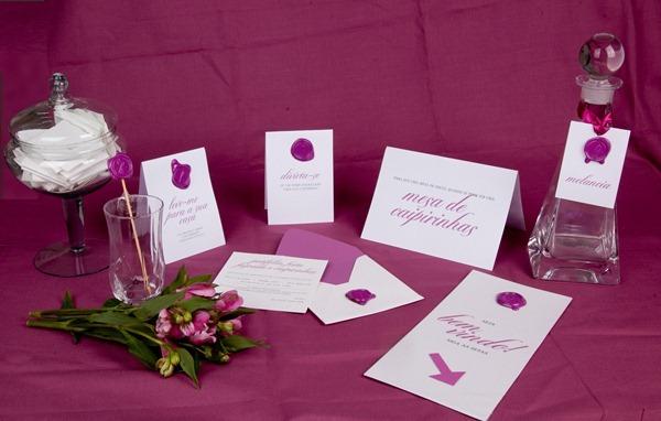 patit convite aniversário identidade personalizado rosa lacre de cera IMG_3822 (12)