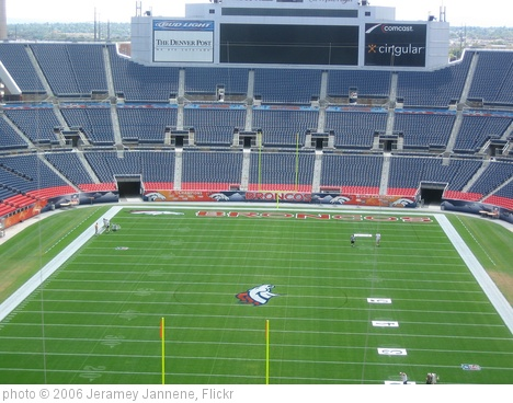'Invesco Field at Mile High Stadium' photo (c) 2006, Jeramey Jannene - license: http://creativecommons.org/licenses/by/2.0/