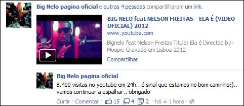 Rap Angolano - Video - Big Nelo - Ela É Feat Nelson Freitas