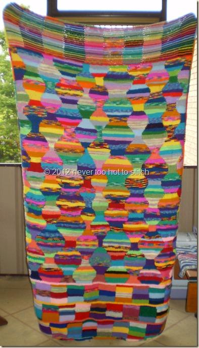 2012 Intarsia Blanket
