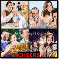 CHEERS- 4 Pics 1 Word Answers 3 Letters