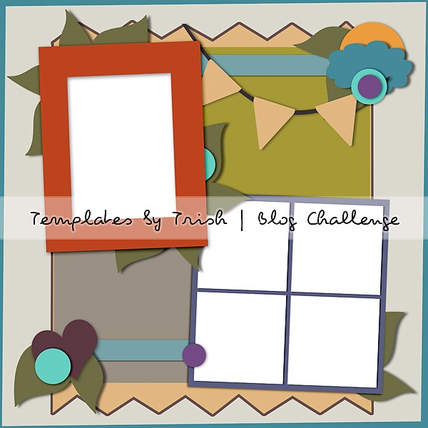 blog challenge - templates by trish PREVIEW