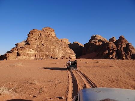 Obiective turistice - Iordania: Safari Wadi Rum