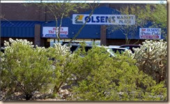 Olsens Market Place in Ajo.
