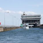 DSC00085.JPG - 17.05.2013. Podnośnia statków w Niederfinow; akwedukt  na górnym poziomie (36 m wyżej)