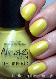 Nicole by OPI Ladies in the Limelight