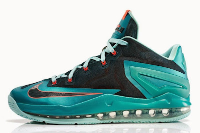 nike lebron 11 low gr nightshade 2 03 Nike Max LeBron XI Low Turbo Green Release Information