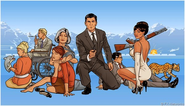 "Watch ""ARCHER"" on Netflix and FX."