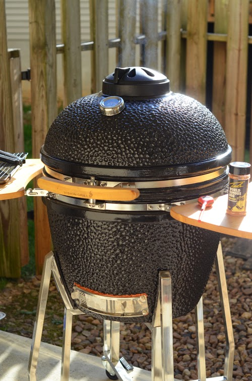 Review of the Vision Grills Classic B Series Kamado