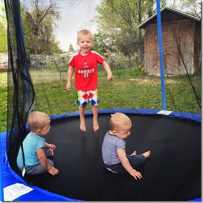 Bravo sports trampoline
