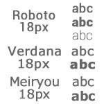font_roboto_verdana_meiryou