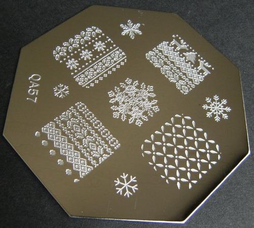 Stamping plate QA57