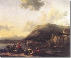 BERCHEM_Nicolaes_landscape_With_Jacob_Rachel_And_Leah
