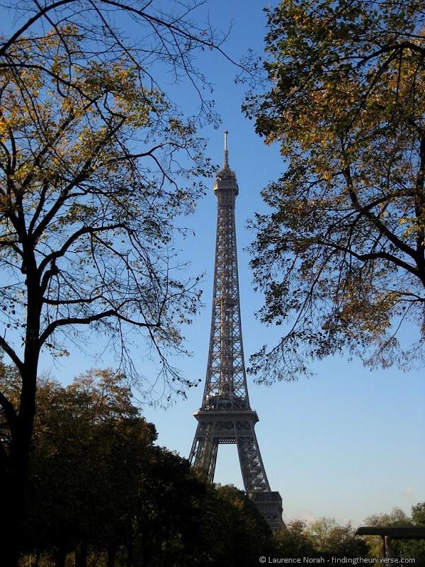 Eiffel Tower Paris Autumn 2