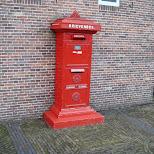 old dutch mailbox - brievenbus in Zaandam, Noord Holland, Netherlands
