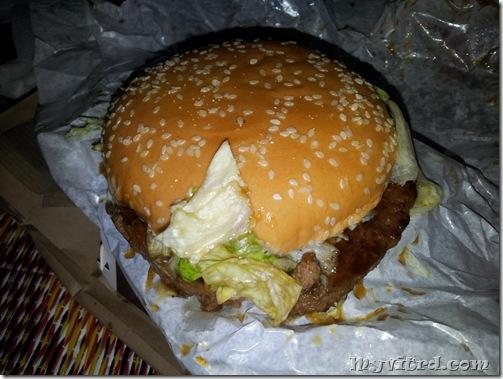MC Donald Samurai Burger Single
