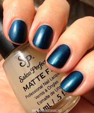 Salon Perfect Nautical Nights with Matte FX 2