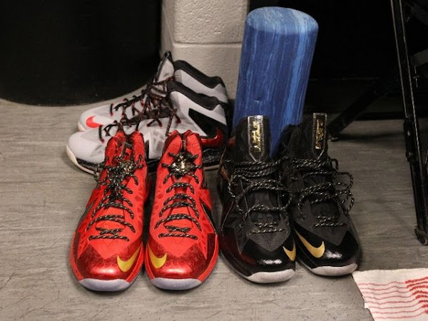 Nike LeBron PS Elite NBA Finals 8211 Game 4 amp 5 8211 Black  Gold PE