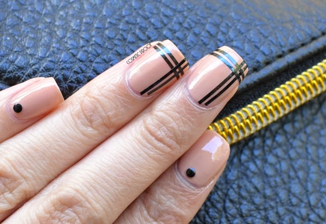 Red Carpet Nude Manicure Nail Art with Sothy Paris Nail Vernis in Beige (3)