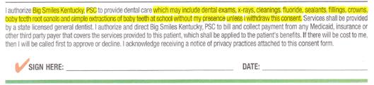 Big Smiles Kentucky Snippet