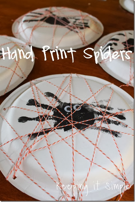 handprint spiders