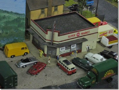 IMG_5511 Supermarket on the Lewis County Model Railroad Club's HO-Scale Layout at the WGH Show in Portland, OR on February 17, 2007
