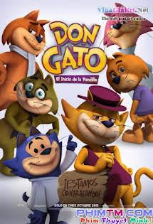 Băng Nhóm Của Top Cat - Top Cat Begins Tập HD 1080p Full