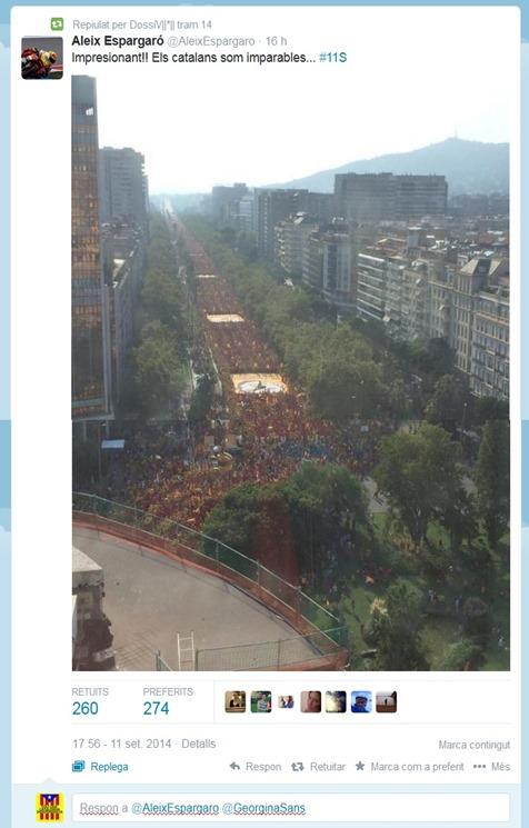 Manifestacion de barcelona 11092014 2