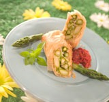 Asparagus Strudel